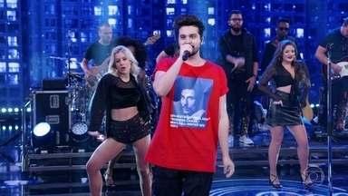 Luan Santana canta Acordando o Prédio - Plateia canta e dança junto com Luan