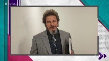 Edson Celulari manda recado para Juliana Paiva e Nicolas Prattes - Ator agradece a parceria com o casal protagonista de 'O Tempo Não Para'