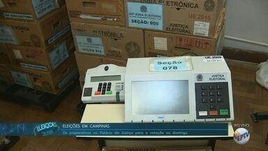 Justiça Eleitoral se prepara para eleições na região - Em Piracicaba (SP), 600 foram levadas para os locais de votação.
