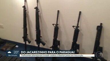 Cinco bandidos do Jacarezinho são presos no Paraguai com plano de resgate de traficante - Segundo a polícia, o grupo queria tirar o traficante Marcelo Piloto da cadeia em Assunção, capital do Paraguai