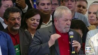Ministério Público Federal pede a condenação de Lula em mais uma ação - Lula e mais sete pessoas são investigados por causa da compra de um terreno e de um apartamento.