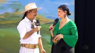 Reveja o terceiro bloco do 'Galpão Crioulo' de domingo (7) - Assista ao vídeo.