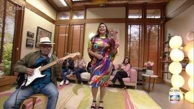Fafá de Belém comenta seu trabalho como atriz em 'A Força do Querer' - Depois do papo com André Marques, ela canta 'Foi Assim'