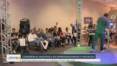 Conferência Amazônia reúne nomes do empreendedorismo em Manaus - Evento - que encerra neste sábado (6) - discute possibilidades de investimentos na área do empreendedorismo.