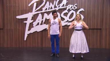 Confira o ensaio de Dani Calabresa para o rock do 'Dança dos Famosos' - Assista!