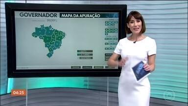 Veja como foram as votações para governador nos estados do Centro-Oeste - Governadores do Goiás e de Mato Grosso foram decididos no primeiro turno. Decisão será em segundo turno no Distrito Federal e no Mato Grosso do Sul.