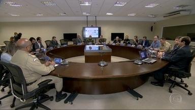 40 mil agentes participaram do esquema de segurança do primeiro turno - Pela primeira vez, o trabalho integrado foi coordenado por um gabinete de crise montado com a participação de várias autoridades.