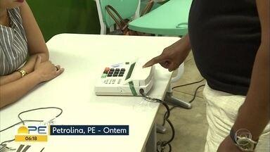 Primeiro turno das eleições em Pernambuco é avaliado positivamente pelo TRE e SDS - Precisaram ser trocadas 186 urnas eletrônicas. O TRE contava com 2 mil terminais prontos para substituição.