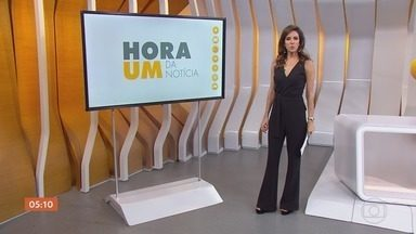 Hora 1 - Edição de segunda-feira, 08/10/2018 - Os assuntos mais importantes do Brasil e do mundo, com apresentação de Monalisa Perrone