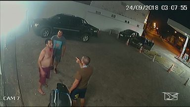 Polícia conclui inquérito sobre a agressão de um PM a um funcionário público em São Luís - Polícia conclui inquérito sobre a agressão de um Polícia Militar e um enfermeiro a um funcionário público em um posto de gasolina. Os dois foram indiciados por tentativa de homicídio.