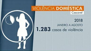 A cada cinco horas, uma mulher é vítima de violência doméstica, em Cascavel - As vítimas podem pedir ajuda na Delegacia da Mulher ou no Créas.