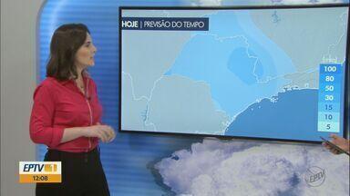 Confira a previsão do tempo para esta terça-feira na região - Confira a previsão do tempo para esta terça-feira na região