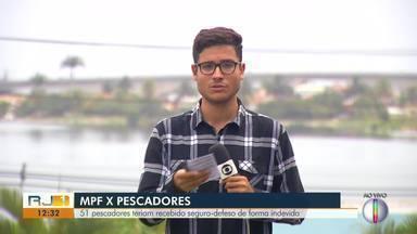 MPF apresenta denúncia contra 51 pescadores de Arraial do Cabo por estelionato - MPF diz que eles teriam recebido o seguro-defeso do caranguejo de forma indevida.