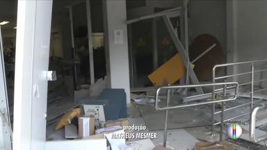 Gaeco de Ipatinga investiga casos de explosão de bancos na região - Ministério público denunciou sete bandidos que atacaram o município de São João do Oriente.