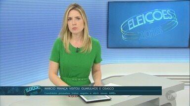 Confira a agenda dos candidatos ao governo de São Paulo nesta terça-feira (9) - Veja os compromissos de João Doria (PSDB) e Márcio França (PSB). Candidatos disputam segundo turno.