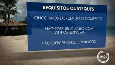 Donos de quiosques ganham na Justiça direito de continuar com estabelecimentos em Caraguá - No entanto, eles terão que realizar adequações.