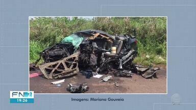 Homem morre em acidente de trânsito em Monte Castelo - Colisão foi na Rodovia Euclides de Oliveira Figueiredo (SP-563).