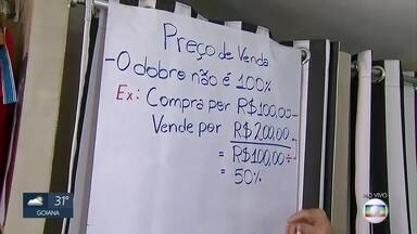 Empreendedorismo: saiba como colocar preços em produtos - Analista do Sebrae explica como é possível evitar prejuízo e obter lucro através do comércio dos produtos.