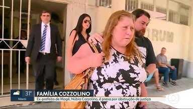 Ex-prefeita de Magé Núbia Cozzolino é presa - Ela é acusada de chefiar um esquema que falsificava assinaturas de juízes e promotores e também mudava documentos para obstruir a Justiça.