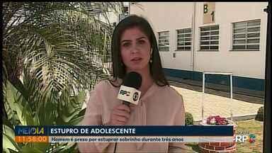 Homem é preso suspeito de estuprar sobrinho, em Ponta Grossa - Abusos teriam acontecido durante três anos.