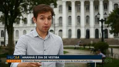 Nesta quinta-feira (11) tem Série Vestiba no Meio-dia Paraná - Assunto da reportagem é: cálculo.