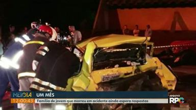 Após um mês, polícia ainda investiga inquérito de morte de jovem em suposto racha em Foz - Acidente envolveu um Camaro na madrugada do dia 7 de setembro.