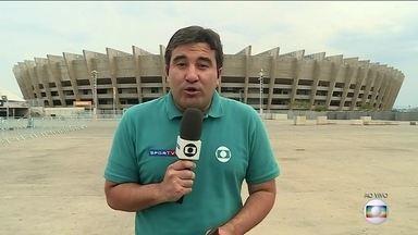 No Mineirão, Eudes Junior mostra preparativos para a primeira decisão da Copa do Brasil - No Mineirão, Eudes Junior mostra preparativos para a primeira decisão da Copa do Brasil