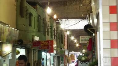 Mercado municipal de Governador Valadares começa etapa de revitalização - Reformas estão sendo feitas na parte hidráulica e na iluminação.