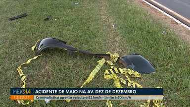 Polícia divulga laudo sobre dois acidentes fatais em Londrina - Um foi em maio na avenida Dez de Dezembro onde duas pessoas morreram. O outro foi na BR-369, em setembro, que vitimou outras duas pessoas.