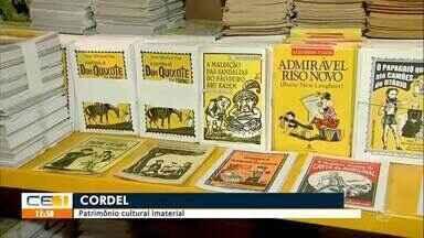 Cordel é reconhecido como patrimônio cultural imaterial - Saiba mais em g1.com.br/ce