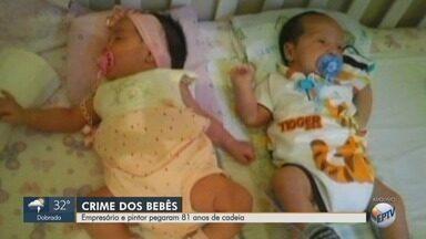 Acusados de matar mãe e bebês gêmeos são condenados a 81 anos de prisão - Matuzalém Ferreira Junior e Antônio Moreira Pires foram considerados culpados por júri em Igarapava (SP).