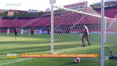 Equipe sub-23 do Vitória garante vaga nas semifinais do Campeonato Brasileiro - Meninos do Leão estão com bom desempenho na competição.