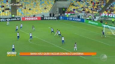 Atacante do Bahia comenta próxima partida contra o Paraná, no sábado (13) - Apesar de o adversário ser o lanterna do Campeonato Brasileiro, o tricolor não quer espera jogo fácil.