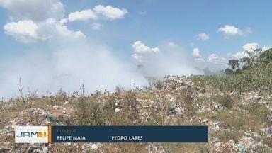 Aumento de focos de incêndios ameaça saúde de moradores de Itacoatiara, no AM - Focos de incêndio preocupam autoridades.