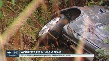 Carro identificado em acidente de família de Campinas passa por perícia em Minas Gerais - Veículo estaria ocupado por três mulheres na hora do acidente, e ainda não foram ouvidas pelo delegado responsável.