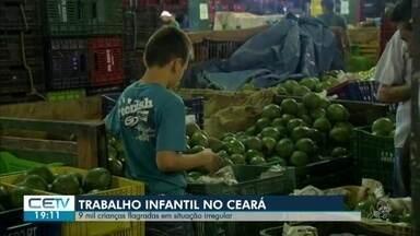 Mais de nove mil estudantes foram encontrados em situação de trabalho infantil - Veja mais notícias em g1.com.br/ce