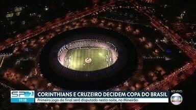 Corinthians e Cruzeiro decidem a Copa do Brasil - Jogo de ida da final acontece no Mineirão