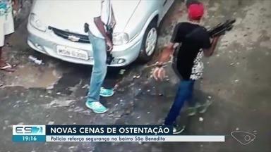 Após ostentação de criminosos com armas, PM vai ficar 24h em São Benedito - O secretário de Segurança Pública, coronel Nilton Rodrigues, também disse que blitze passarão a ser feitas sempre de quinta-feira a domingo, dias de mais movimento do tráfico.