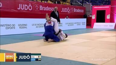 Atletas de Brasília conquistam medalhas de Judô - No campeonato brasileiro disputado na Bahia, judocas da capital ganham dois ouros no masculino e um bronze no feminino.