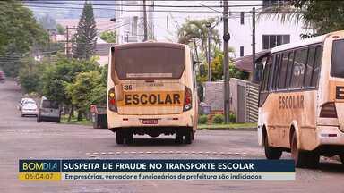 Polícia conclui inquérito que apura esquema criminoso - O caso envolve o transporte escolar em São Miguel do Iguaçu.