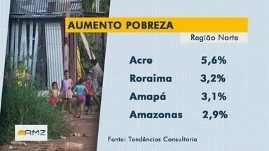 Percentual de pessoas de extrema pobreza aumenta em todo país - Acre registrou a maior alta do país.