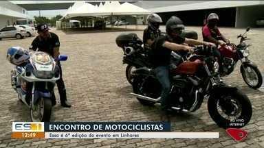Motociclistas realizam o 6º encontro com mais de 300 pessoas - Pessoas do Brasil inteiro participam do evento.