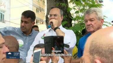 Confira o dia de campanha dos candidatos ao governo do Rio no 2º turno - Assista a seguir.