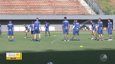 Bahia: Gilberto treina e deve ser relacionado para jogo contra o Paraná - Veja os destaques do tricolor baiano.