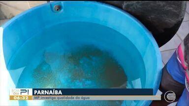 Ministério Público investiga a qualidade de água em Parnaíba - Ministério Público investiga a qualidade de água em Parnaíba
