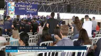 Dia de Nossa Senhora Aparecida - Padroeira do Brasil é homenageada no cenáculo com Maria