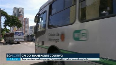 CPI do transporte coletivo ouve representantes da TCCC - A próxima reunião deve ocorrer no dia 15 de outubro