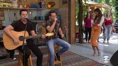 João Neto e Frederico cantam 'Saudade do caramba' - Música é um dos grandes sucessos da dupla