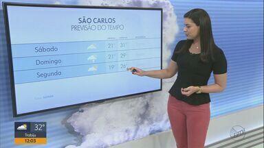 Confira a previsão do tempo na região - Veja como fica o clima no fim de semana.