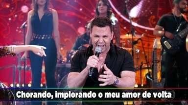 Eduardo Costa canta 'Olha Ela Aí' - Confira!